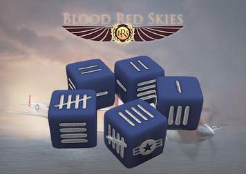 Blood Red Skies: US Blood Red Skies Dice