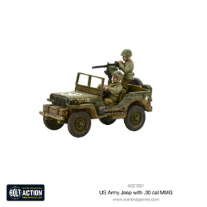 Bolt Action: US Jeep with 30 Cal MMG
