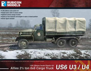 Rubicon Models US6 U3/U4 2 1/2 Ton 6x6 Truck