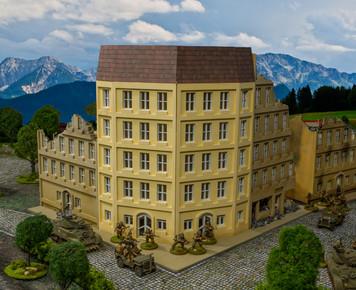 28mm Corner Building - 28MMDF525