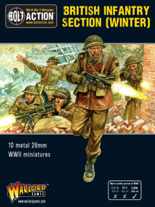 Bolt Action: British Infantry Section (Winter)