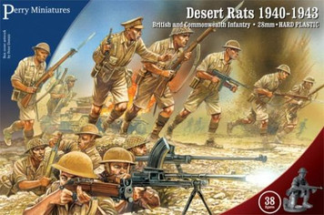 Bolt Action: Perry Miniatures - Desert Rats 1940-43