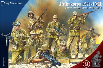 Bolt Action: Perry Miniatures - Afrikakorps 1941-1943