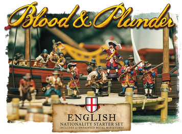 Blood and Plunder: English Nationality Starter Set
