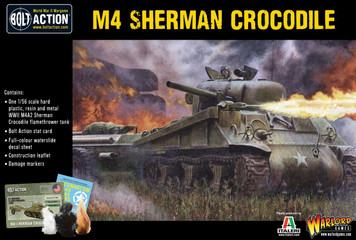 Bolt Action: Sherman Crocodile Flamethrower Tank