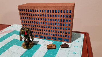 6mm Modern / Future City Building - 285CSS071