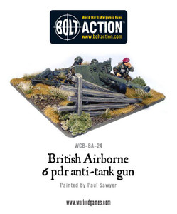 Bolt Action: British Airborne 6 Pounder ATG & Crew