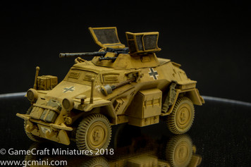 SdKfz 222/223 Light Armoured Car
