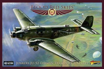 Blood Red Skies: German Junkers JU-52
