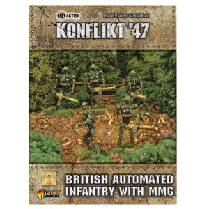 Konflikt '47: British Automated Infantry with MMG