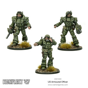 Konflikt '47: US Armoured Officers