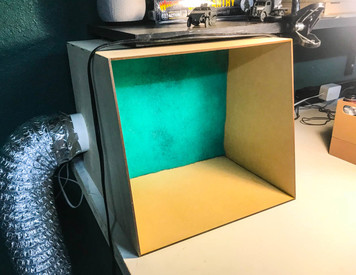 Small DIY Paint Booth