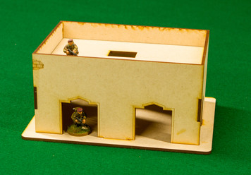 Middle East One Story Building - 28MMDF014-R