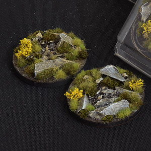 Battle Ready Bases: Highland Round 60mm (x2)
