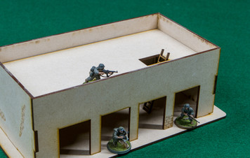 Middle East One Story Building - 28MMDF011-R