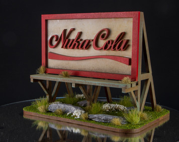 28mm Nuka Cola Billboard - 28MMDF167-2