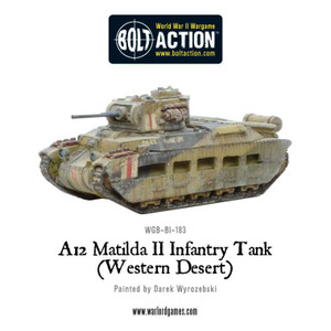 Bolt Action: Matilda II - Desert