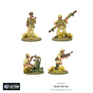 Bolt Action: 8th Army HQ Team