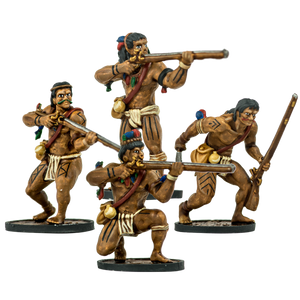 Blood & Plunder: Native American Warrior Musketeers Unit