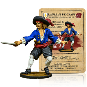 Blood & Plunder: French Laurens De Graff Legendary Commander