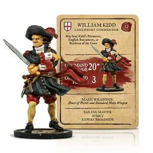 Blood & Plunder: English William Kidd Legendary Commander