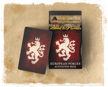 Blood & Plunder: European Forces Activation Deck