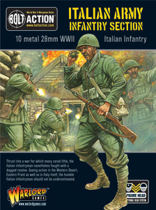 Bolt Action: Italian Army Infantry Section