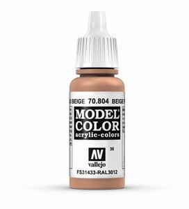 Vallejo Model Color: Beige Red