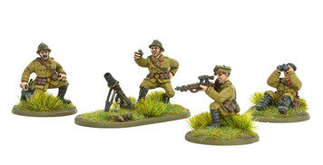 Bolt Action: Belgian Army Light Mortar & Sniper Teams