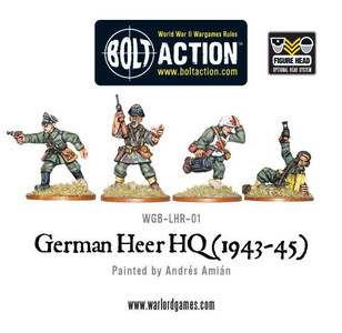 Bolt Action: German Heer HQ (1943-45)