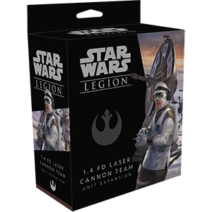 Star Wars: Legion - 1.4 FD Laser Cannon Team Unit Expansion