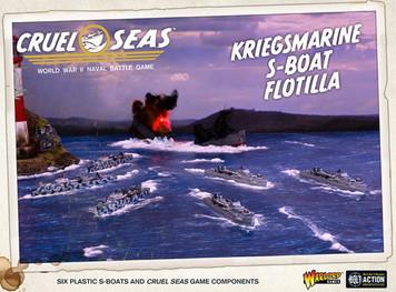 Cruel Seas: Kriegsmarine S-boat Flotilla