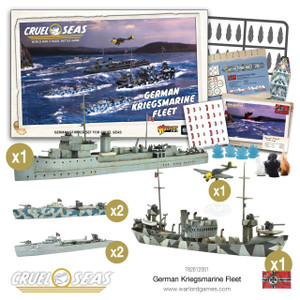 Cruel Seas: German Kriegsmarine Fleet