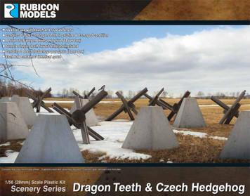Rubicon Models Dragon Teeth & Czech Hedgehog