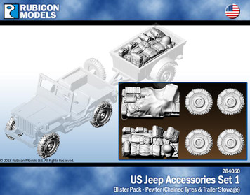 Rubicon Models US Jeep Accessories Set 1