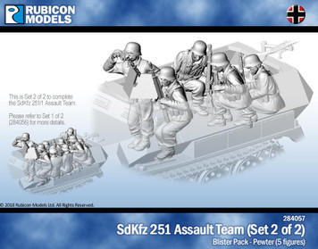 Rubicon Models SdKfz251/1 Assault Team Set 2
