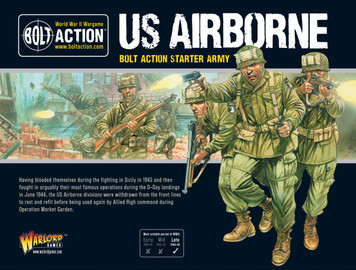 Bolt Action: US Airborne Starter Army (NEW)