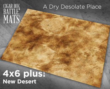 Battle Mat - New Desert