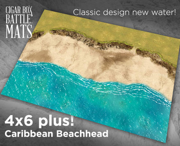 Battle Mat - Caribbean Beachhead