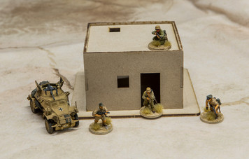 28mm Afghan Style Hovel - 28MMDF060-R