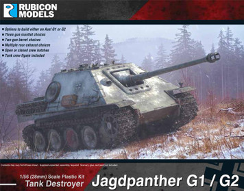 Rubicon Models Japdpanther (G1 & G2)