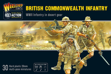 Bolt Action: British Commonwealth Infantry