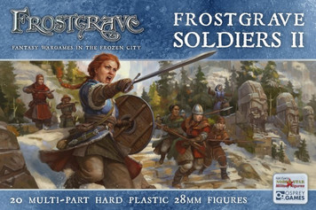 Frostgrave Women Soldier Set
