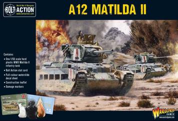 Bolt Action: A12 Matilda II Infantry Tank