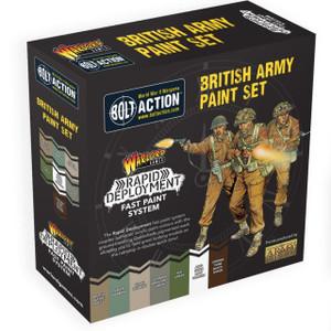 Bolt Action British Paint Set