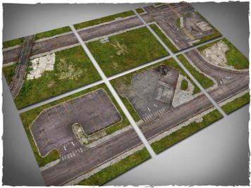Game mat - Walking Dead Town tiles - Mousepad