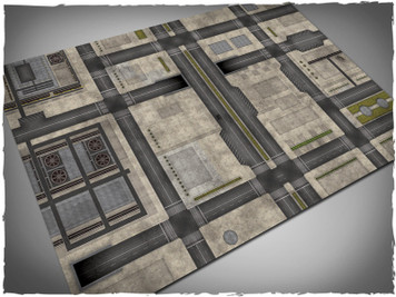 Game mat - Cityscape #2 - Cloth, 4x6