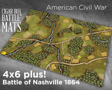 Battle Mat - Battle of Nashville