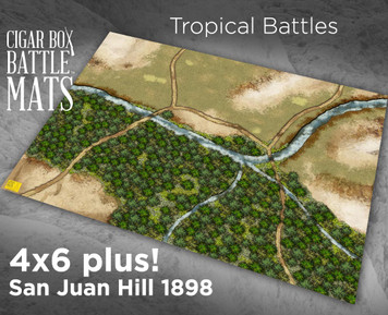 Battle Mat - Tropical Gaming Mat