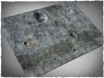 Game mat - City Ruins - Cloth, 4x6